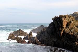 Mar Cantábrico acantilado en Tapia de Casariego Asturias paraíso natural