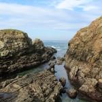 Rocas mar Cantábrico Asturias Paraíso Natural