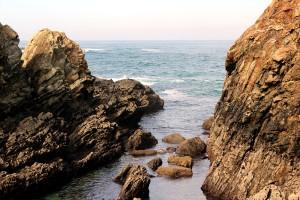 Rocas agua mar Cantábrico Asturiano Paraíso Natural