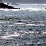 Mar brava en costa asturiana Mar Cantábrico