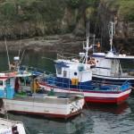 Puerto Tapia de Casariego barcos pesqueros