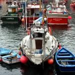 Barcos pesca en Luarca