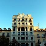 Madrid plaza de Santa Ana edificio