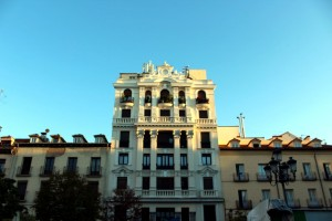 Madrid plaza de Santa Ana edificio