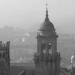 Iglesia de Santa Eufemia la Real del centro – Orense – Blanco y negro
