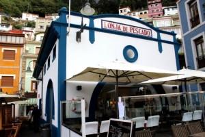 Antigua lonja de pescado Cudillero Asturias