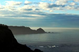 Atardecer en la costa de Asturias Cudillero