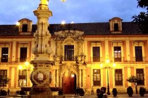 Sevilla plaza del Triunfo