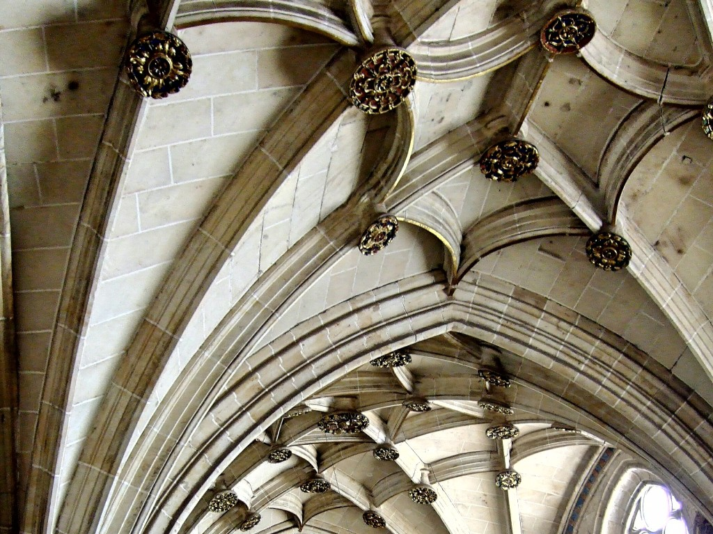 Arcos techo catedral de Salamanca