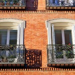 Balcones calle de Atocha Madrid