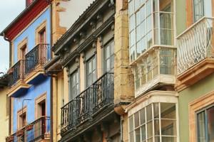 Balcones en Oviedo