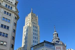 Calle Alcalá Madrid edificios