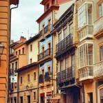 Calles mojadas de Oviedo