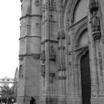 Catedral Salamanca en blanco y negro