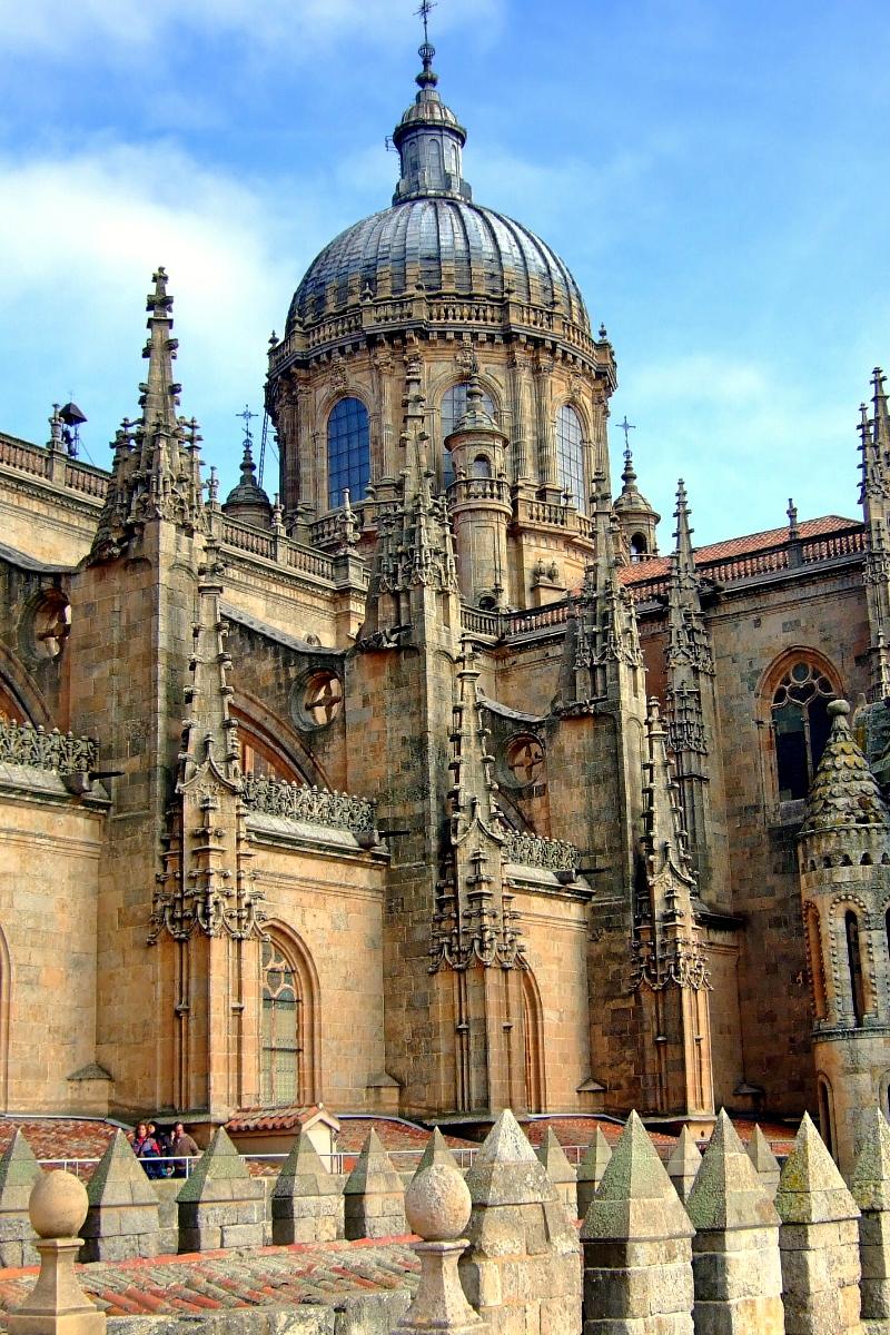 Catedral de Salamanca cúpula