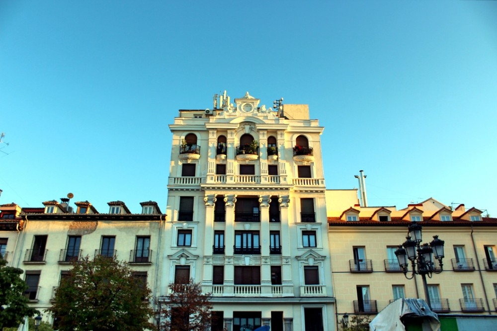 Edificio Madrid Plaza de Santa Ana