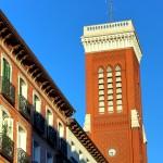 Edificio antiguo en la calle Atocha de Madrid