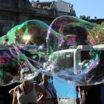El mundo tras una burbuja de jabón