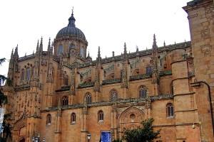 Fachada Catedral Plaza Anaya Salamanca