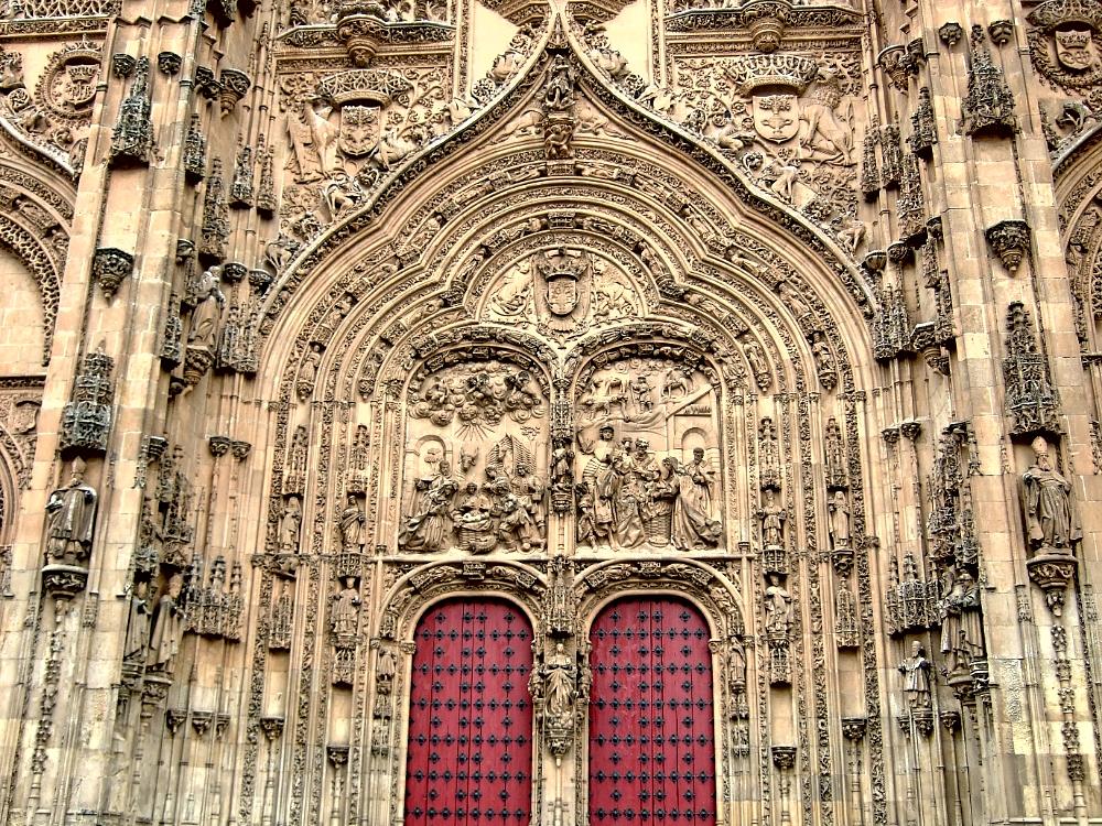 Fachada de Catedral de Salamanca