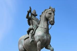 Felipe III estatua plaza Mayor Madrid