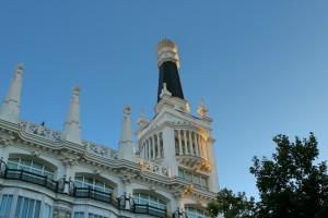 Hotel desde la Plaza del Angel en Madrid