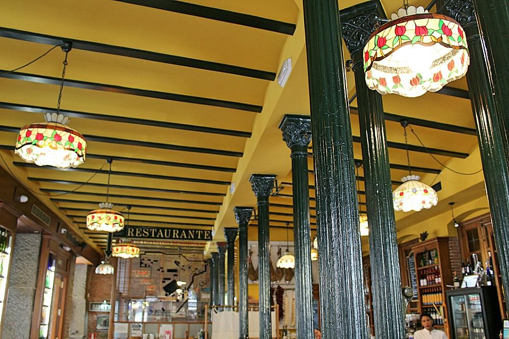 Interior de Restaurante en Madrid en Cava de San Miguel