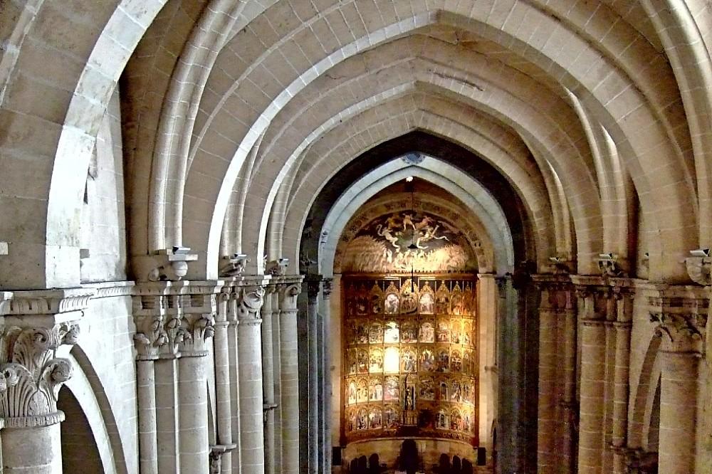 Interior de la catedral - Salamanca