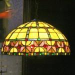 Lámpara Tiffany en el Jam Session de Orense