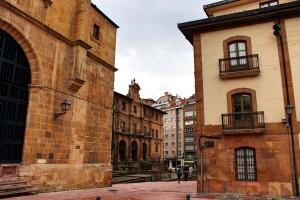 Oviedo plaza de Feijoo