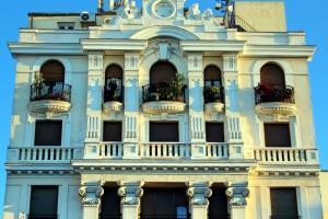 Plaza de Santa Ana Madrid fachada edificio