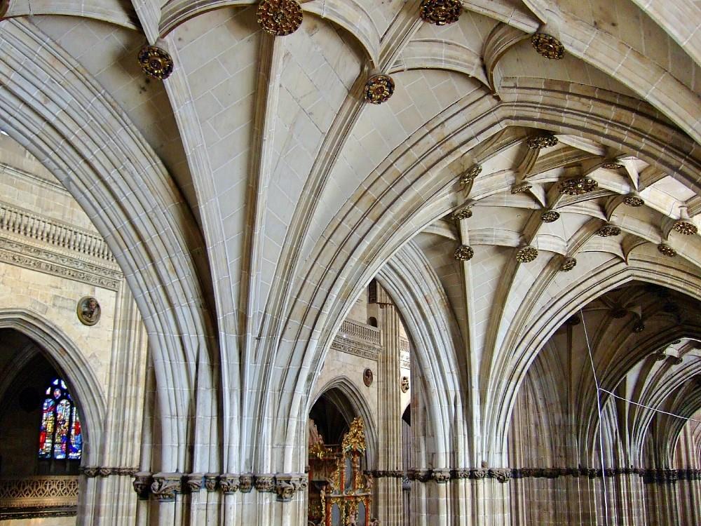 Preciosa imagen del interior de la catedral Salamanca