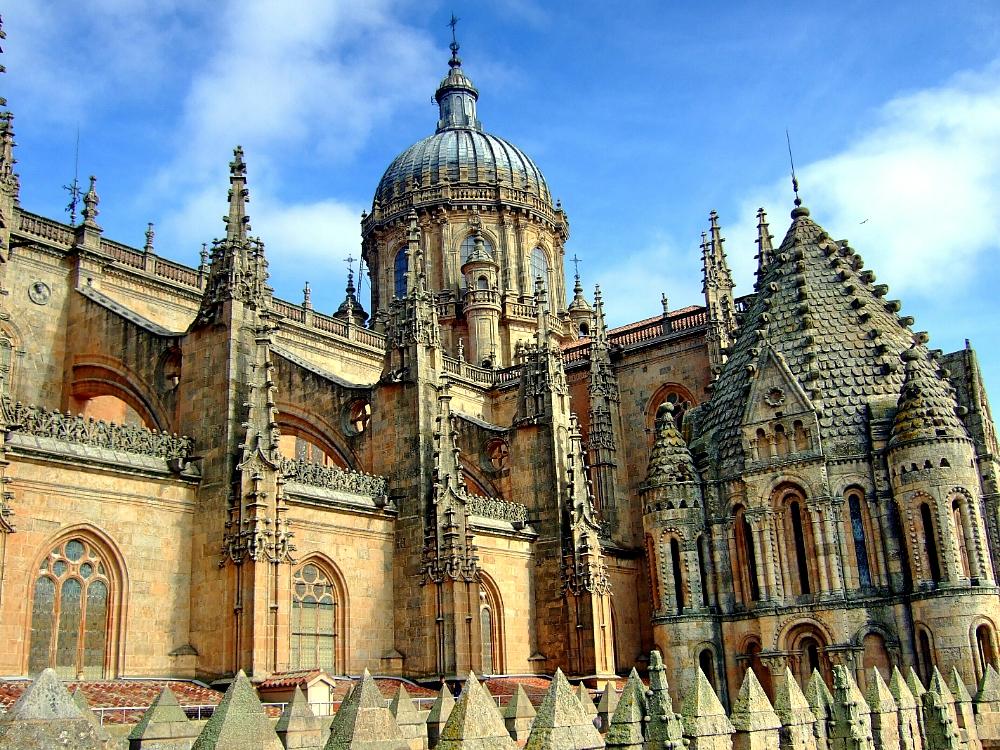 Salamanca Catedral cúpula