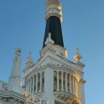 Torre de hotel plaza de Santa Ana Madrid