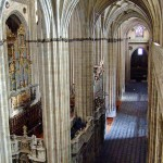 Vista interior de la catedral de Salamanca