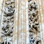 Astronauta y Dragón con helado de tres bolas Catedral de Salamanca