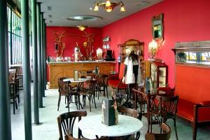 Café art decó art nouveau