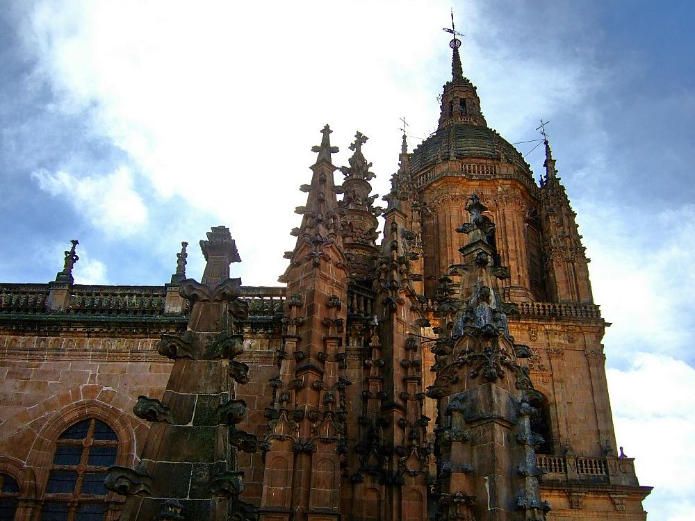 Catedral Salamanca vista parcial