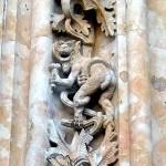 Dragón con helado de tres bolas Catedral de Salamanca