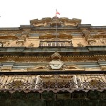 Fachada Ayuntamiento de Salamanca en plaza Mayor