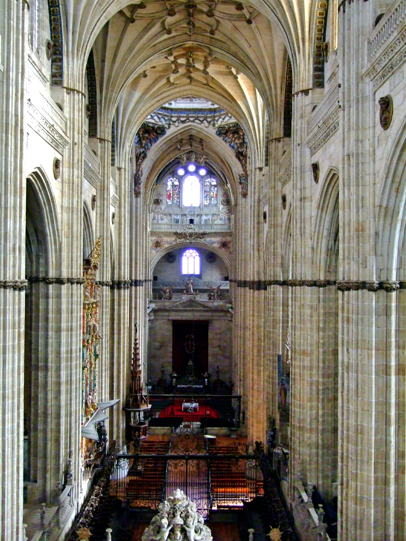 Nave central Catedral Salamanca