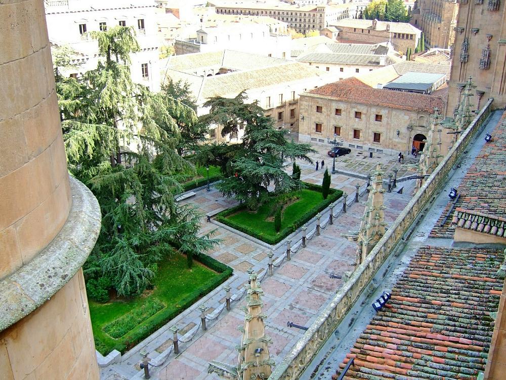Plaza Anaya desde lo alto de la Catedral - Salamanca