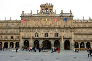 Plaza mayor de Salamanca Ayuntamiento