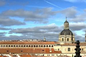 Skyline de Salamanca desde la catedral