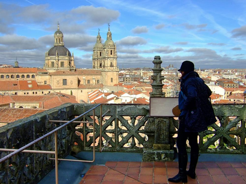Vista general de Salamanca desde la Catedral