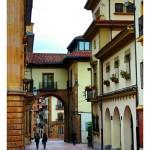 Calle de Oviedo cerca de la catedral