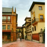 Calle del casco viejo de Oviedo