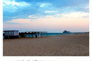 El castillo de Peñíscola desde la Playa
