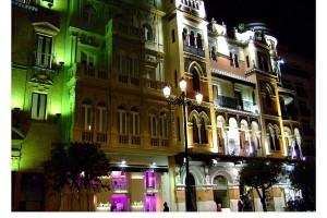 Fachada de edificio de Sevilla Avenida de la Constitución