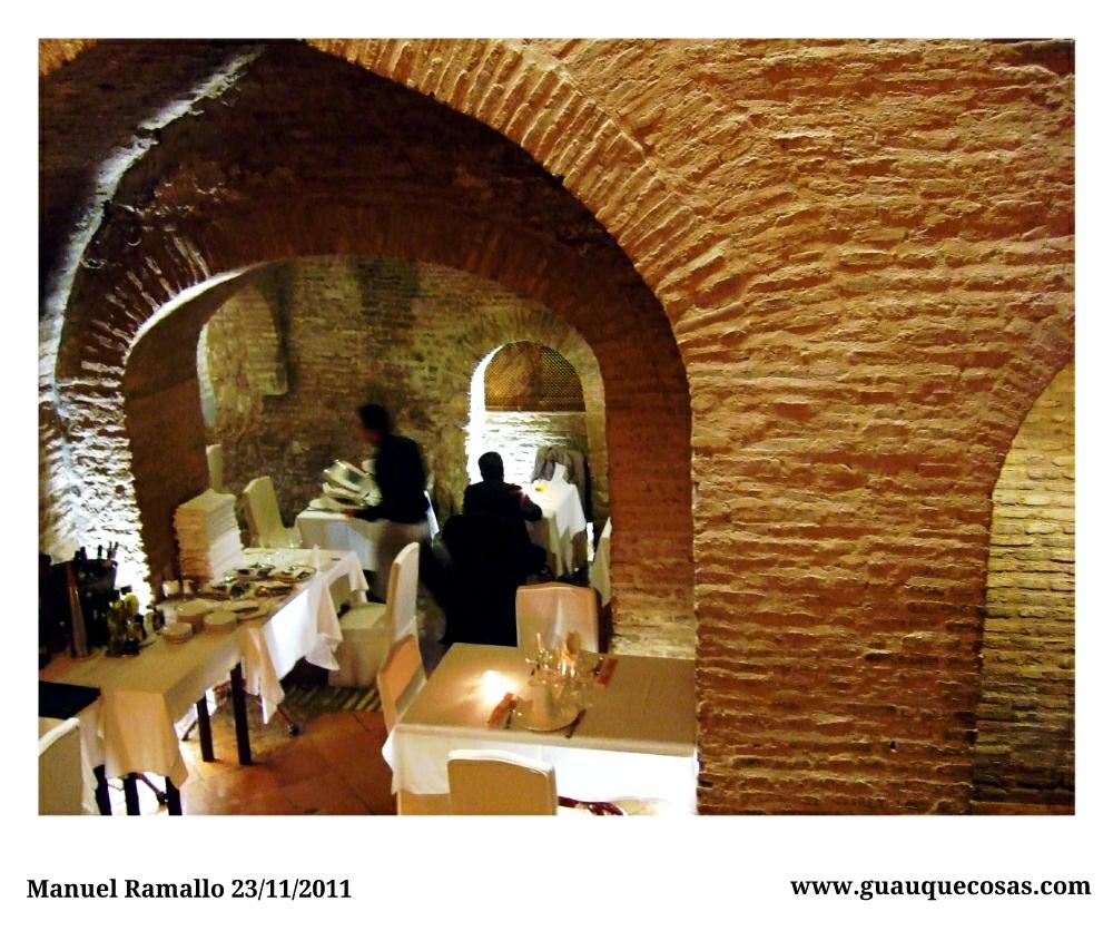 Interior de restaurante en Sevilla